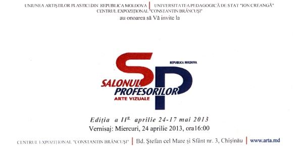 SALONUL PROFESORILOR DE ARTE VIZUALE: ediţia a II-a