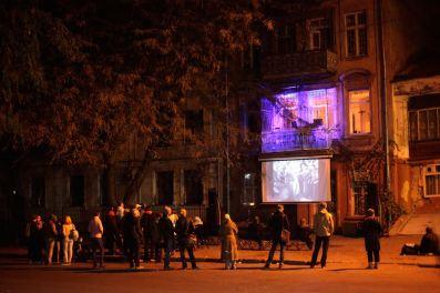 Balcony concert, Odessa